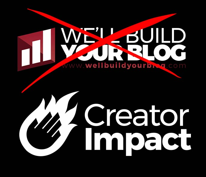 Why I rebranded to Creator Impact.